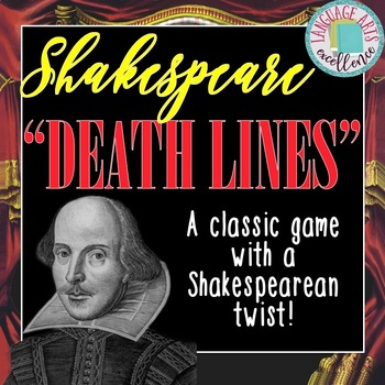 "Shakespearean ""Final Lines"" Activity - A Perfect Lesson fo"
