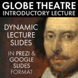 Globe Theatre, Lecture & Extra Credit Paper Craft, Shakesp