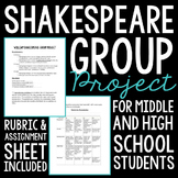Shakespeare Group Research Project