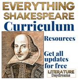 Shakespeare Curriculum Teaching Activities Bundle