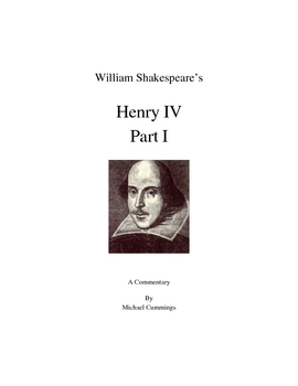Shakespeare: Henry IV, Part I
