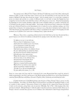 Shakespeare: Henry IV, Part I