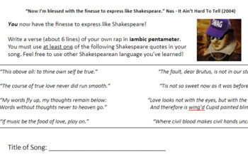 Shakespeare & Hip-Hop