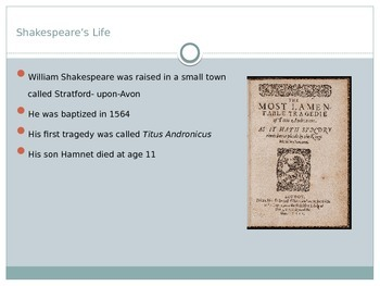 Shakespeare: His Life and His Works