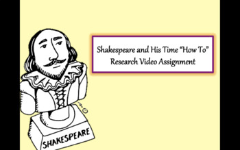 Shakespeare How To Video Project