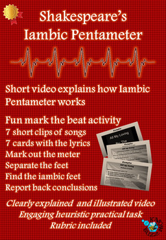 Shakespeare's Iambic Pentameter