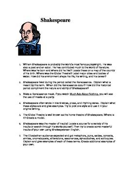 Shakespeare - Individualized Unit