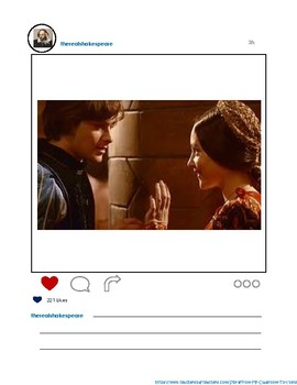 Shakespeare Instagram