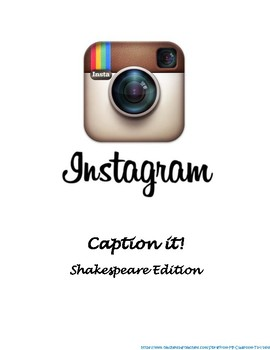 Shakespeare Instagram