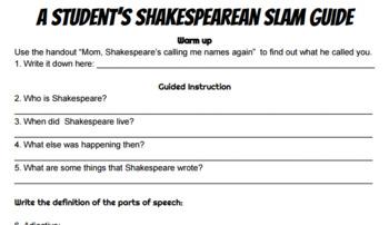 Shakespeare Insult Week