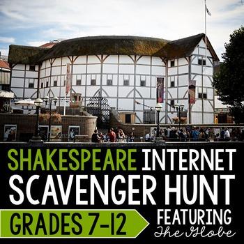 Shakespeare Internet Scavenger Hunt
