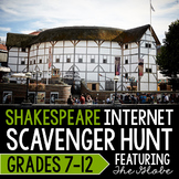 Shakespeare Internet Scavenger Hunt