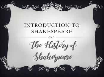 Shakespeare Intro & FIB Handout