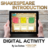 Shakespeare Introduction Lesson (Digital)