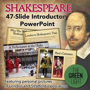 Shakespeare Introductory PowerPoint with Discussion Questions