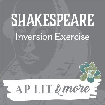Shakespeare Inversion Exercise
