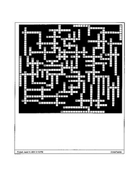 Shakespeare: Julius Caesar Crossword Puzzles