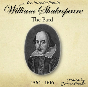 Shakespeare Life & Times Introduction Powerpoint Presentation Distance Learning