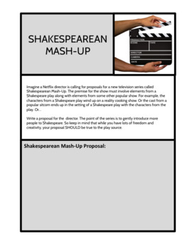Shakespeare: Lightning Versions Performance Project