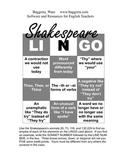 Shakespeare LINGO Assignment
