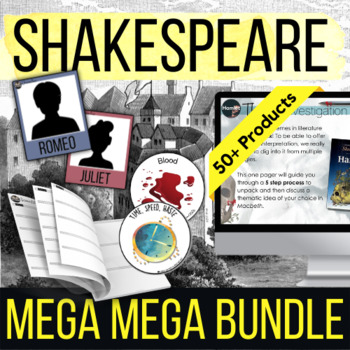 Shakespeare MEGA Bundle