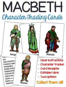 Macbeth Trading Cards