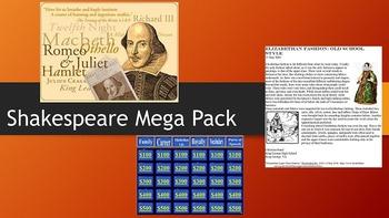 Shakespeare Mega Pack