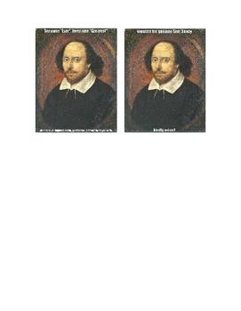Shakespeare Meme Activity Sheet