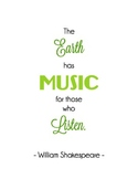 Shakespeare Music Quote
