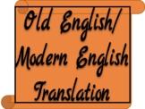 Shakespeare Old English to Modern English Translation