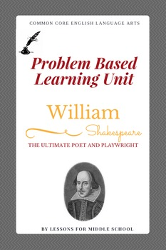 English Language Arts - Shakespeare PBL for Middle School