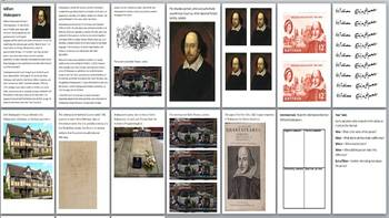 Shakespeare Plays Handout Pack