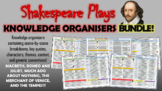 Shakespeare Plays Knowledge Organizers Bundle!