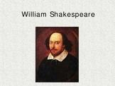 Shakespeare Power Point