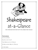 Shakespeare Preview for Literature Circles