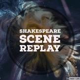 Shakespeare Scene Replay Game