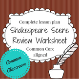Shakespeare Scene Review