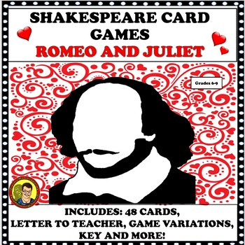 """CARD GAME """"Romeo and Juliet"""""""
