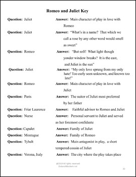 """SHAKESPEARE CARD GAMES """"ROMEO AND JULIET"""""""