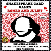 "SHAKESPEARE CARD GAMES ""ROMEO AND JULIET"""