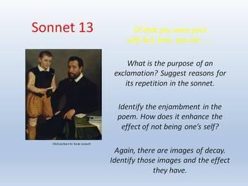 Shakespeare - Sonnet 13