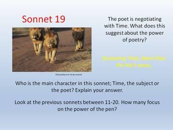 Shakespeare - Sonnet 19