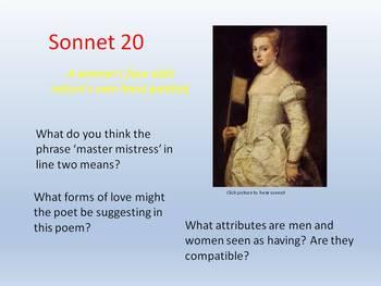 Shakespeare - Sonnet 20