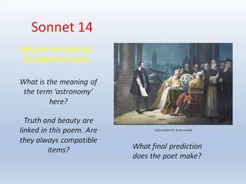 Shakespeare - Sonnet 14