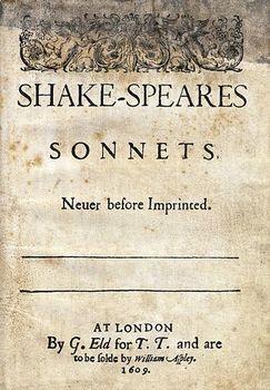 Shakespeare - Sonnet 72