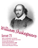 Shakespeare Sonnet 73 -- Finding tone, mood, voice -- Use