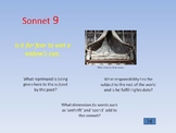 Shakespeare - Sonnet 9