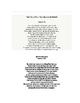 Shakespeare - Sonnet Packet