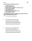 Shakespeare Sonnet Practice