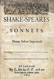 Shakespeare - Sonnets 41 - 50